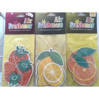 Buy cheap Customized Paper Car Air Freshener product