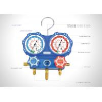Buy cheap 2 Way AC Manifold Gauge Set R410A R22 R134A Air Conditioner Pressure Gauge from wholesalers