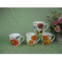 Buy cheap 12oz Fine Porcelain Coffee Mug, Full Decal Printed, SA8000/SMETA Sedex/BRC/ISO/BSCl Audit from wholesalers