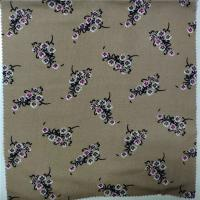 Buy cheap 100% Printed Rayon Fabric 30X30 Yarn Count 57/58'' Width Digital Printing from wholesalers