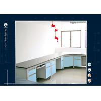 Buy cheap Flexible Wall Bench L Shape  Chemistry Lab Furniture Heavy - Duty Phenolic Resin Materials from wholesalers