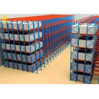 Buy cheap Mobile Drive In And Drive Through Racking / Heavy Duty Pallet Racking System from wholesalers