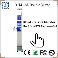 Buy cheap High Quality Health Body Human Scale Balance With Coin machine and heart rate/pulse weighing blood pressure mashine from wholesalers