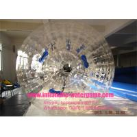 Buy cheap Commercial Transparent Inflatable Zorb Ball , Human Sized Hamster Ball Rental from wholesalers