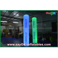 Buy cheap Advertising 2.5m Height Lighting Inflatable Pillar Column With Logo Printing from wholesalers