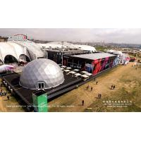 Buy cheap 100% Waterproof 25x50mm Double Decker Tents for Art Exhibition from wholesalers