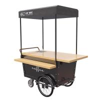 Buy cheap Disc Brake Ice Cream Push Cart Push Scooter For Coffee Vending 25° Climbing from wholesalers