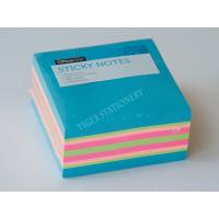 Buy cheap Three Neon color sticky note cube sticky memo pad  3X3 inc for office assistant school business famaily from wholesalers