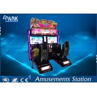Buy cheap Conjoined racing car game coin operated machine from wholesalers