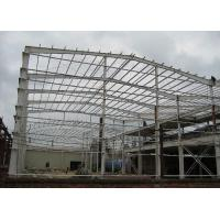 Buy cheap ISO Certificated Prefab Steel Buildings / Prefab Gym Buildings With Steel Shed from wholesalers
