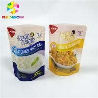 Buy cheap Frozen Food Plastic Pouches Packaging Stand Up Nylon Vacuum Retort Storage from wholesalers