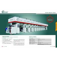 Buy cheap BOPP  Pet  CPP PVC Multicolor Rotogravure Printing Machine for sale from wholesalers