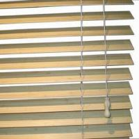 Buy cheap Bamboo Venetian Blinds/Curtains/Louvres with 2mm Slat Thickness, Various Colors are Available from wholesalers