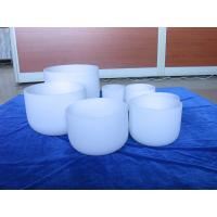 Buy cheap quartz chakra singing bowls for sound therapy from wholesalers