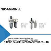 Professional SFC FRL Pneumatic Industrial Air Filter Regulator And Lubricator