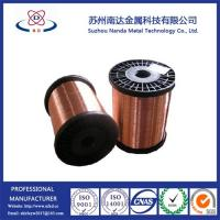 Buy cheap Copper Clad Steel CCS Wire, Not Copper Coated Steel Wire, 15%-40% conductivity from wholesalers
