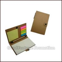 Buy cheap Promotional Kraft Memo pad with pen gift logo from Wholesalers
