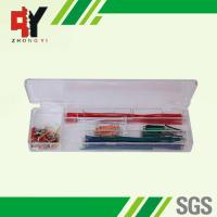 Buy cheap Pre - Cut 140 Strips Breadboard Jumper Cables Box With Copper Clad Aluminum Conductor from wholesalers