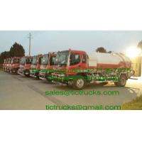 Buy cheap ISUZU vacuum tanker truck septik tank truck  Cesspool Emptying Truck CAPACITY 8000 UPTO20000L from wholesalers