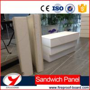 China EPS XPS Fireproof partition wall mgo pu sandwich panel on sale