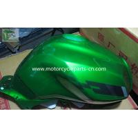 Buy cheap Green Steel Alloy TX200 motorcycle fuel tanks 18L , Red / Yellow / Black from wholesalers