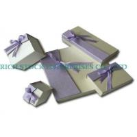 Buy cheap the jewelry box/Cardboard Jewelry Box from wholesalers