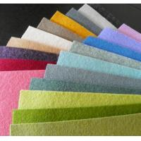 Buy cheap 100% colorful polyester felt fabric for sales(info@chinafelt.com) from wholesalers