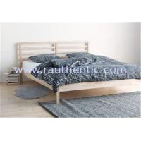 Buy cheap Traditional Wood Frame Bed Queen Size With Slatted Bed Base OEM Avaliable from wholesalers