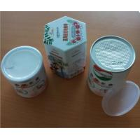 Buy cheap Round Nutrition Foods Airproof Paper Composite tube Cans , Paper canister from wholesalers