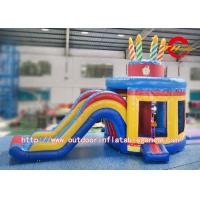 Buy cheap Inflatable Jumper Bounce House For Kids Play / Birthday Party SGS Certification from wholesalers