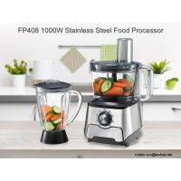 Buy cheap CE RHOS LFGB Certificated FP408 Stainless Steel Food processor from wholesalers