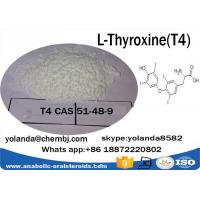 Buy cheap CAS51-48-9  Anabolic Steroid Powder L-Thyroxine / T4  for Weight Loss from wholesalers
