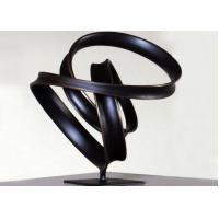 Buy cheap Indoor Ribbon Bronze Lawn Statues , Abstract Bronze Sculptures WS-C038 product