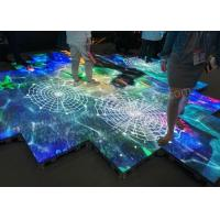 Buy cheap 3 In 1 SMD Acryric Dance Floor LED Display Stairs Outdoor Tourist Attractions from wholesalers