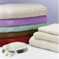 Buy cheap Environmentally Friendly Cotton Bamboo Towels , Jacquard Bamboo Bath Towels from wholesalers