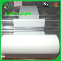 Buy cheap Hot sale 420mm CAD Plotter Paper for Garment factory rolls 80gsm product