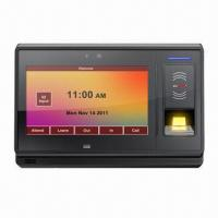 Buy cheap NFC Time Recorder with 7-inch Touch Screen from wholesalers