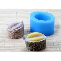 Buy cheap Customized Handmade Durian Shaped Silicone Soap Molds 5.6*4.0*6.8cm from Wholesalers