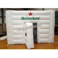 Buy cheap PVC Tarpaulin White Inflatable Event Tent With Logo Printing SGS from wholesalers