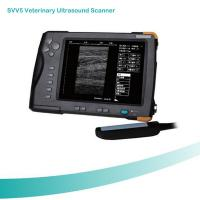 Buy cheap High Cost-effective Waterproof 7 inch TFT screen Veterinary Palm Ultrasound Scanner from wholesalers