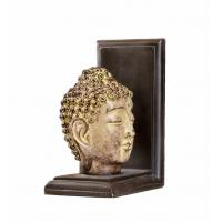 Buy cheap Feng Shui Buddha Head Gold Arrow Bookends , 2 Set Resin Kids Room Bookends from wholesalers