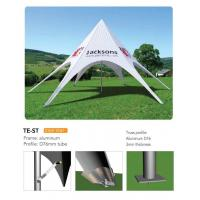 Buy cheap Outdoor Personalized Canopy Tents , Foldable Star Custom Printed Pop Up Tents product
