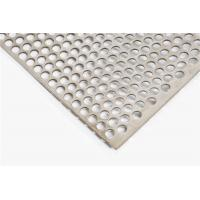 Buy cheap 1.2 Mm 0.9 Mm 1.5 Mm SS Perforated Sheet Metal BA 2B Surface Treatment from wholesalers