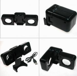 Buy cheap FOLDABLE MINI SPEAKER USB MINI SPEAKER MOBILE MINI SPEAKER product