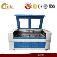 Buy cheap Leather Cloth Laser Engraving Cutting Machines CNC Laser Cutter Equipment 1600 x 1000mm from wholesalers