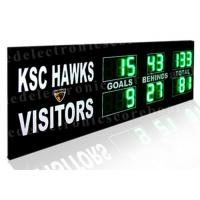 Buy cheap 1.5m X 3m Size Cricket LED Electronic Scoreboard Portable High Brightness from wholesalers