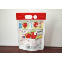 Buy cheap Transparent Bag Standing Up Spout Pouch Clear Drink Stand Up Spout Pouch Juice Plastic Bag from wholesalers