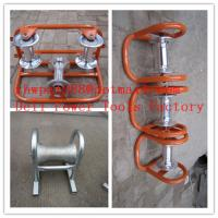 Buy cheap Cable rollers  Cable Sheaves  Cable Guides  Rollers Cable product