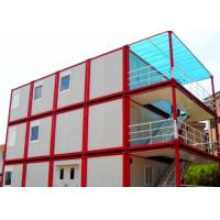 Buy cheap Warm Cool Steel Container Houses , Metal Container Houses With Air Conditioner from wholesalers