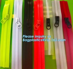 China 3#,4#,5#,6#,7#,8#,9#, 10#,12# China manufacturer waterproof nylon zipper, whykk open end nylon waterproof zipper on sale